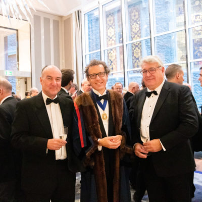 The Worshipful Company of Leathersellers Leather Industry Dinner Drinks Reception